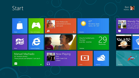 Download Windows 8 Consumer Preview 32-bit & 64-bit